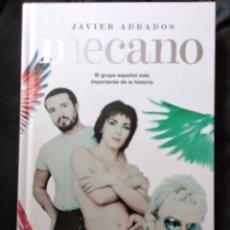 Libros de segunda mano: MECANO - JAVIER ADRADOS. Lote 217709997