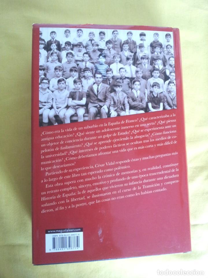 Libros de segunda mano: CESAR VIDAL - NO VINE PARA QUEDARME, MEMORIAS DE UN DISIDENTE - DEDICADO POR EL AUTOR - Foto 3 - 217723570