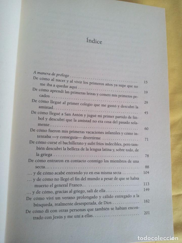 Libros de segunda mano: CESAR VIDAL - NO VINE PARA QUEDARME, MEMORIAS DE UN DISIDENTE - DEDICADO POR EL AUTOR - Foto 5 - 217723570
