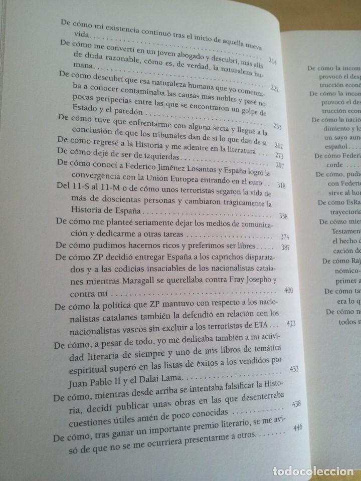 Libros de segunda mano: CESAR VIDAL - NO VINE PARA QUEDARME, MEMORIAS DE UN DISIDENTE - DEDICADO POR EL AUTOR - Foto 6 - 217723570