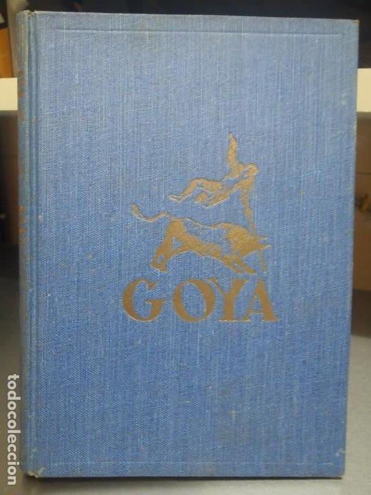 GOYA SU VIDA SU ARTE Y SU MUNDO - JOSE LLAMPAYAS - BIBLIOTECA NUEVA 1943 (Libros de Segunda Mano - Biografías)