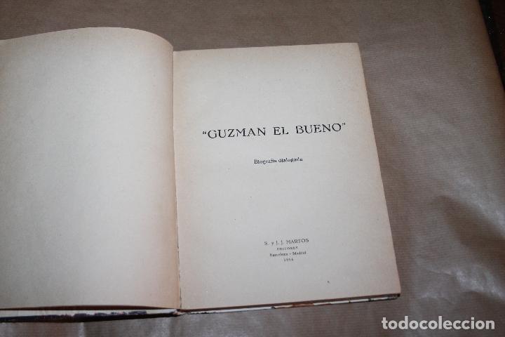 Libros de segunda mano: GUZMAN EL BUENO, BIOGRAFIA DE JOSE BERNARDEZ, AÑO 1956, S.Y J.J MARTOS EDITORES - Foto 2 - 218169993
