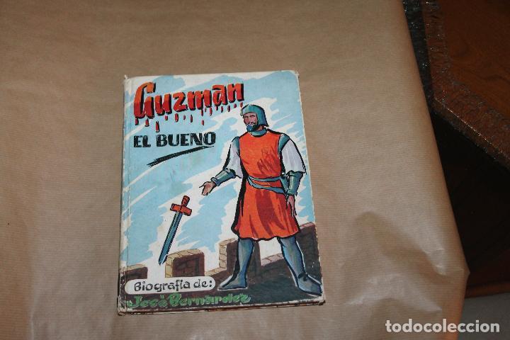GUZMAN EL BUENO, BIOGRAFIA DE JOSE BERNARDEZ, AÑO 1956, S.Y J.J MARTOS EDITORES (Libros de Segunda Mano - Biografías)
