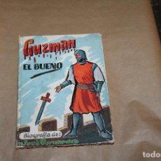 Libros de segunda mano: GUZMAN EL BUENO, BIOGRAFIA DE JOSE BERNARDEZ, AÑO 1956, S.Y J.J MARTOS EDITORES. Lote 218169993