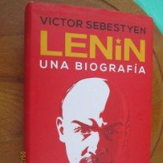 Libros de segunda mano: LENIN , UNA BIOGRAFIA - VICTOR SEBESTYEN - ATICO DE LOS LIBROS - 1ª EDC. 2020. Lote 218864095