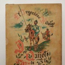 Libros de segunda mano: DON QUIJOTE DE LA MANCHA, (ARCHIVO DE ARTE) 1950, MUY ILUSTRADO. Lote 218879915