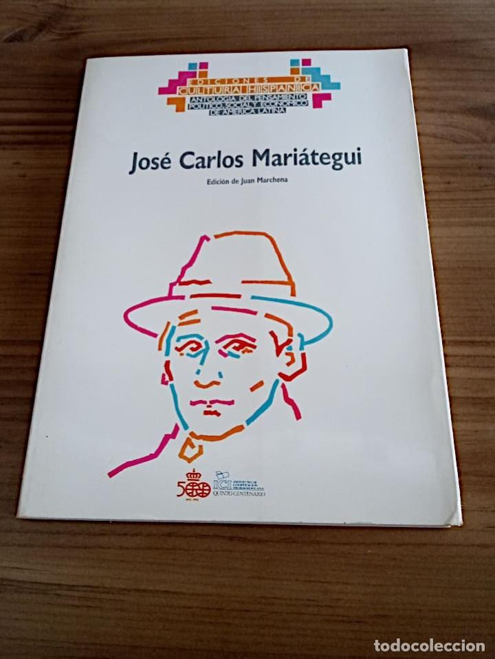 Libros de segunda mano: MARIÁTEGUI, JOSE CARLOS. ED. LIT. MARCHENA FERNANDEZ, JUAN, 1ª ED.1988 NUEVO - Foto 2 - 219454247