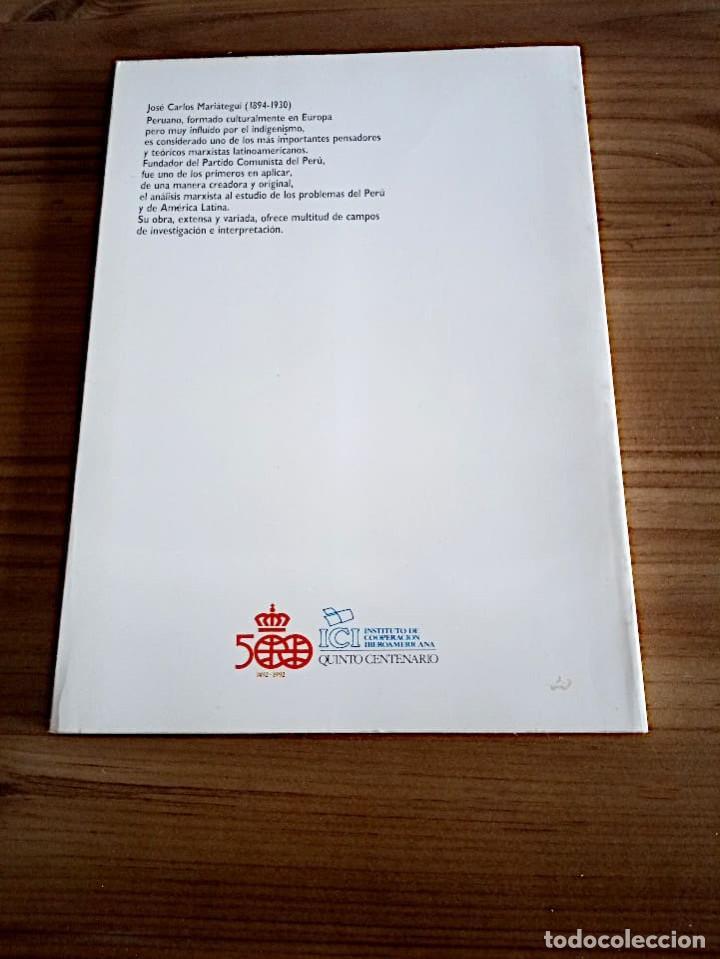 Libros de segunda mano: MARIÁTEGUI, JOSE CARLOS. ED. LIT. MARCHENA FERNANDEZ, JUAN, 1ª ED.1988 NUEVO - Foto 4 - 219454247
