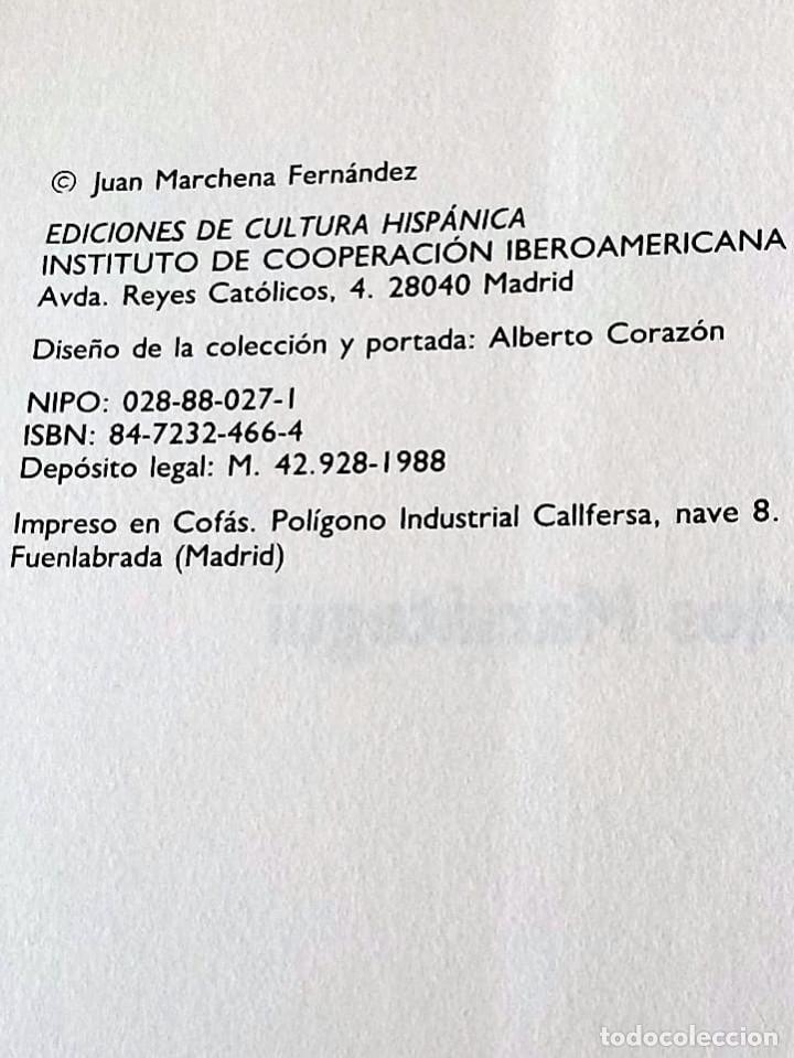 Libros de segunda mano: MARIÁTEGUI, JOSE CARLOS. ED. LIT. MARCHENA FERNANDEZ, JUAN, 1ª ED.1988 NUEVO - Foto 5 - 219454247