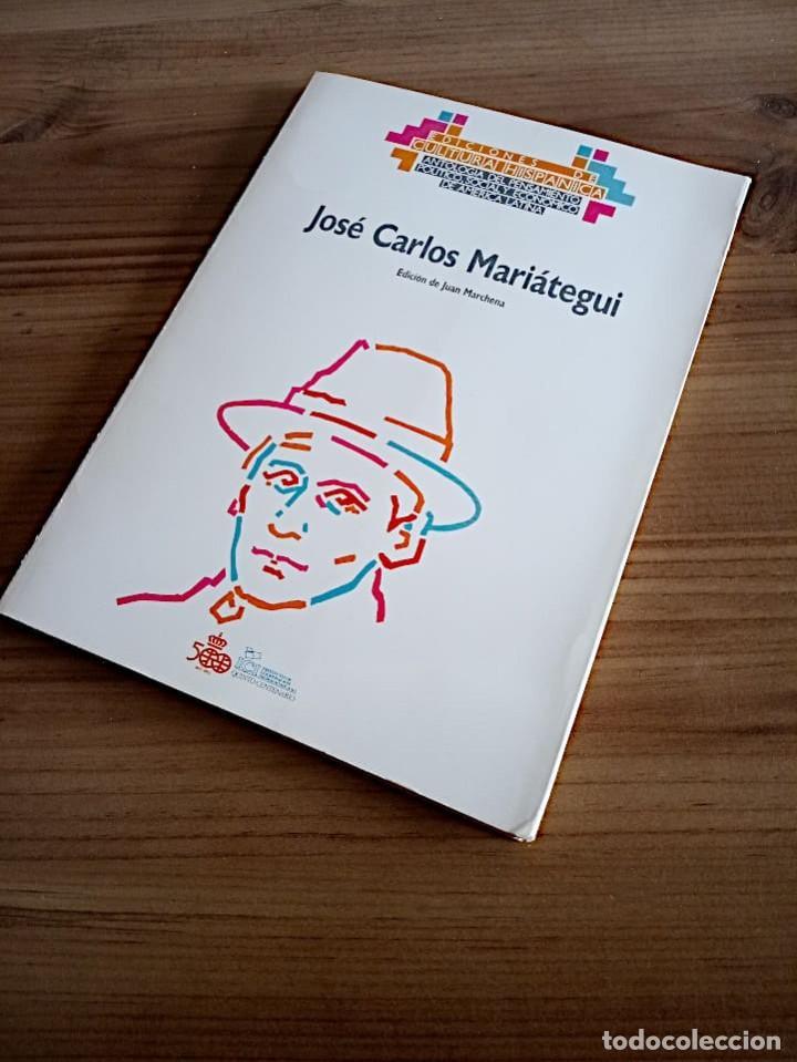 Libros de segunda mano: MARIÁTEGUI, JOSE CARLOS. ED. LIT. MARCHENA FERNANDEZ, JUAN, 1ª ED.1988 NUEVO - Foto 7 - 219454247