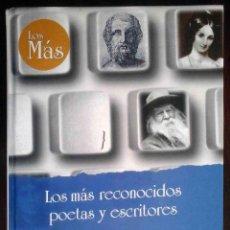 Libros de segunda mano: LOS MÁS RECONOCIDOS POETAS Y ESCRITORES (PILAR PASTOR) ED. RUEDA 1998. Lote 219566338