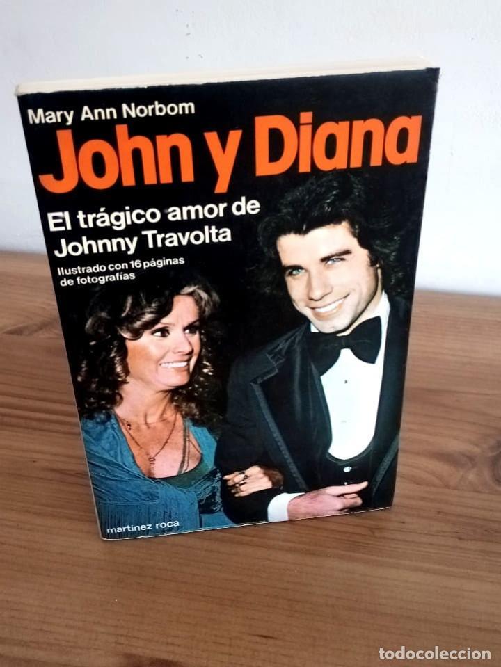 JOHN Y DIANA. NORBOM, MARY ANN. MARTÍNEZ ROCA. 1 ª ED 1979 NUEVO (Libros de Segunda Mano - Biografías)