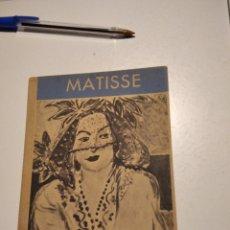Libros de segunda mano: LIBRO COLECCIÓN DES MAITRES MATISSE. Lote 220532375