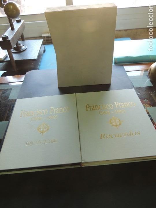 Libros de segunda mano: FRANCISCO FRANCO (1892-1992). RECUERDOS. EDICIÓN FACSÍMIL.- VV.AA. - Foto 2 - 221458956