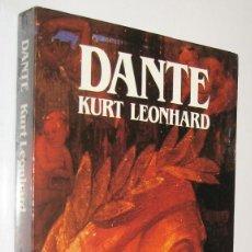 Libros de segunda mano: DANTE - KURT LEONHARD - ILUSTRADO. Lote 221882387