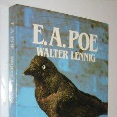 Libros de segunda mano: EDGAR ALLAN POE - WALTER LENNING - ILUSTRADO. Lote 221884482