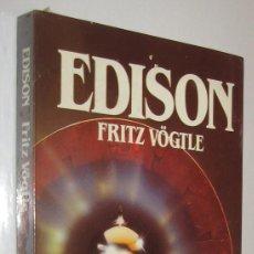 Libros de segunda mano: EDISON - FRITZ VOGTLE - ILUSTRADO. Lote 221900936