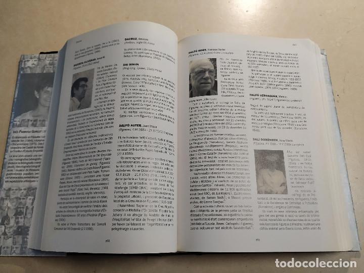 Libros de segunda mano: DICCIONARI BIOGRÀFIC DE LALT EMPORDÀ - INÉS PADROSA GARGOT - DEDICAT - Foto 3 - 221930303