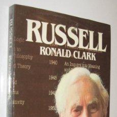 Libros de segunda mano: RUSSELL - RONALD CLARK - ILUSTRADO. Lote 222360091