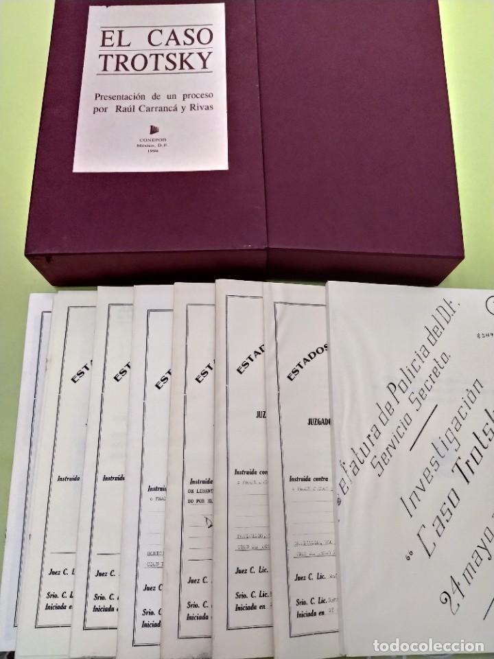 Libros de segunda mano: BOX 37cm.EL CASO TROTSKY.PRESENTACION DE UN PROCESO POR RAUL CARRANCA Y RIVAS.CONEPOD MEXICO D.F1994 - Foto 6 - 222396180