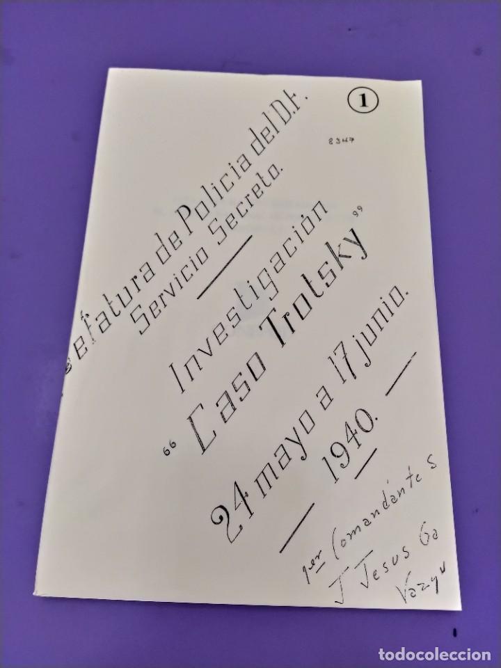 Libros de segunda mano: BOX 37cm.EL CASO TROTSKY.PRESENTACION DE UN PROCESO POR RAUL CARRANCA Y RIVAS.CONEPOD MEXICO D.F1994 - Foto 7 - 222396180