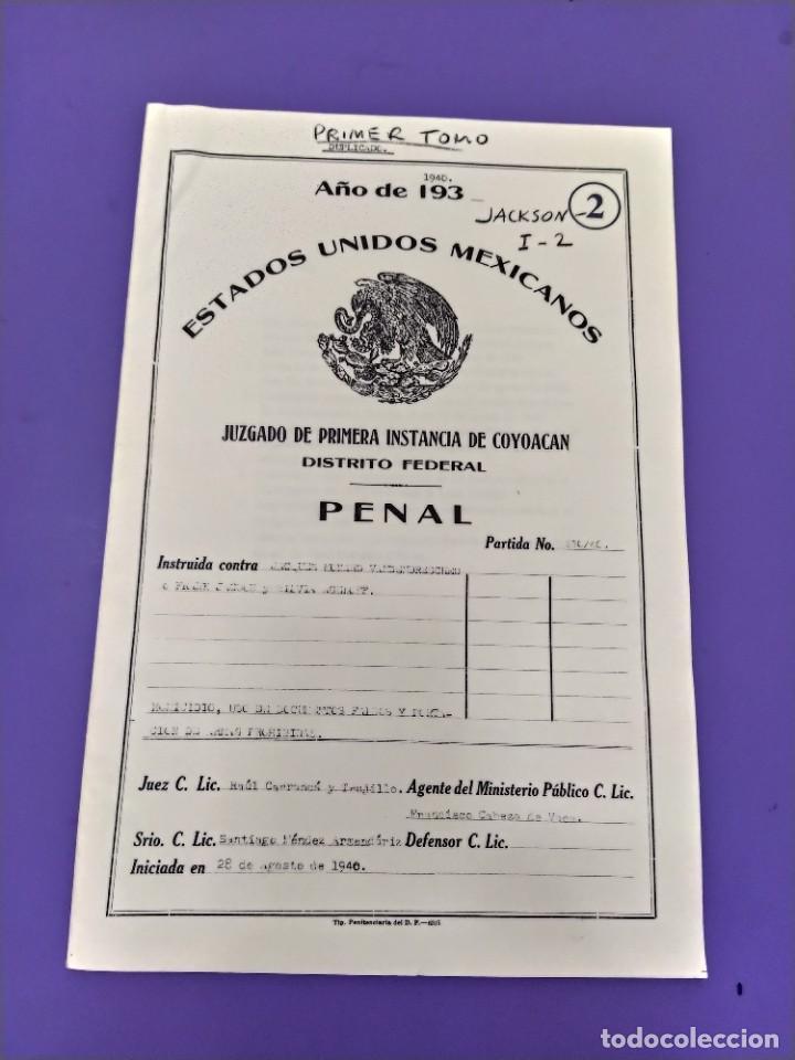 Libros de segunda mano: BOX 37cm.EL CASO TROTSKY.PRESENTACION DE UN PROCESO POR RAUL CARRANCA Y RIVAS.CONEPOD MEXICO D.F1994 - Foto 8 - 222396180