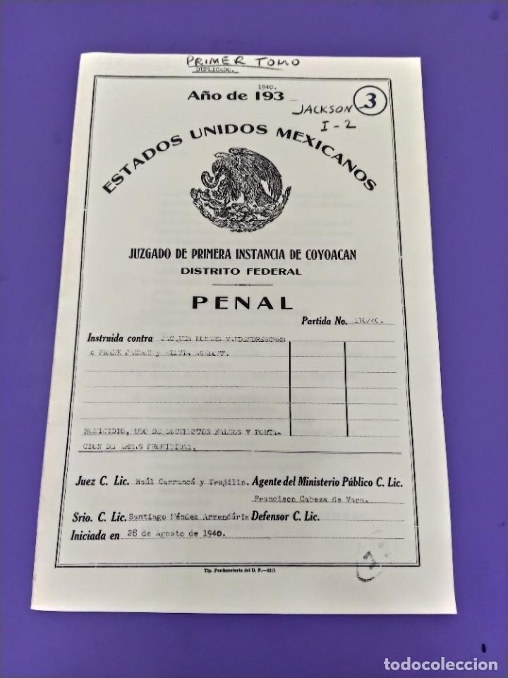 Libros de segunda mano: BOX 37cm.EL CASO TROTSKY.PRESENTACION DE UN PROCESO POR RAUL CARRANCA Y RIVAS.CONEPOD MEXICO D.F1994 - Foto 9 - 222396180