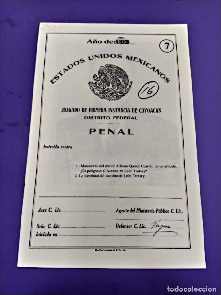 Libros de segunda mano: BOX 37cm.EL CASO TROTSKY.PRESENTACION DE UN PROCESO POR RAUL CARRANCA Y RIVAS.CONEPOD MEXICO D.F1994 - Foto 13 - 222396180