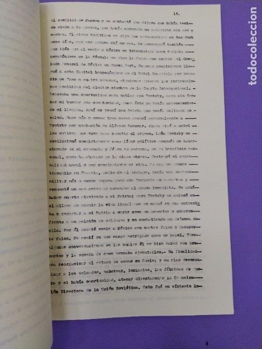 Libros de segunda mano: BOX 37cm.EL CASO TROTSKY.PRESENTACION DE UN PROCESO POR RAUL CARRANCA Y RIVAS.CONEPOD MEXICO D.F1994 - Foto 18 - 222396180