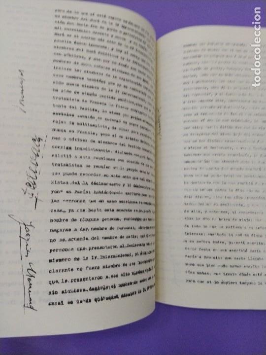 Libros de segunda mano: BOX 37cm.EL CASO TROTSKY.PRESENTACION DE UN PROCESO POR RAUL CARRANCA Y RIVAS.CONEPOD MEXICO D.F1994 - Foto 24 - 222396180