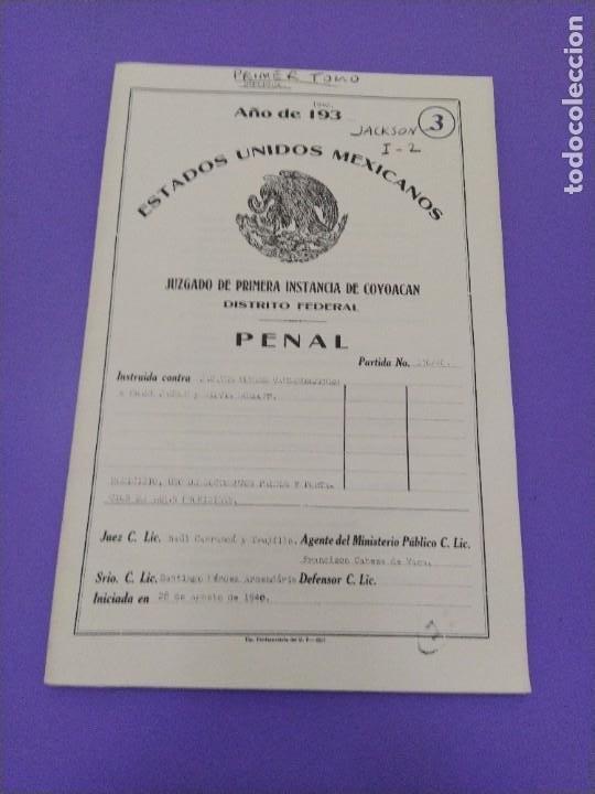 Libros de segunda mano: BOX 37cm.EL CASO TROTSKY.PRESENTACION DE UN PROCESO POR RAUL CARRANCA Y RIVAS.CONEPOD MEXICO D.F1994 - Foto 25 - 222396180