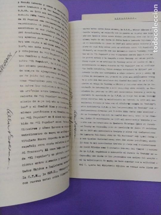 Libros de segunda mano: BOX 37cm.EL CASO TROTSKY.PRESENTACION DE UN PROCESO POR RAUL CARRANCA Y RIVAS.CONEPOD MEXICO D.F1994 - Foto 26 - 222396180