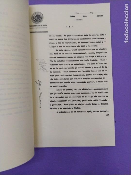 Libros de segunda mano: BOX 37cm.EL CASO TROTSKY.PRESENTACION DE UN PROCESO POR RAUL CARRANCA Y RIVAS.CONEPOD MEXICO D.F1994 - Foto 37 - 222396180