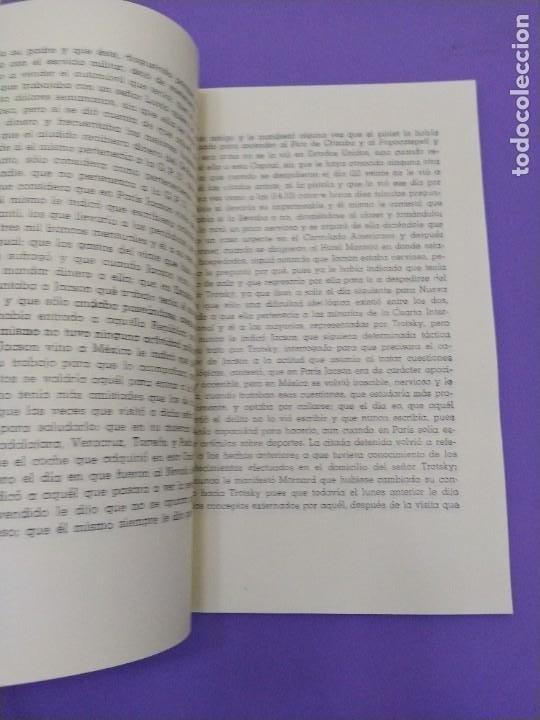 Libros de segunda mano: BOX 37cm.EL CASO TROTSKY.PRESENTACION DE UN PROCESO POR RAUL CARRANCA Y RIVAS.CONEPOD MEXICO D.F1994 - Foto 44 - 222396180