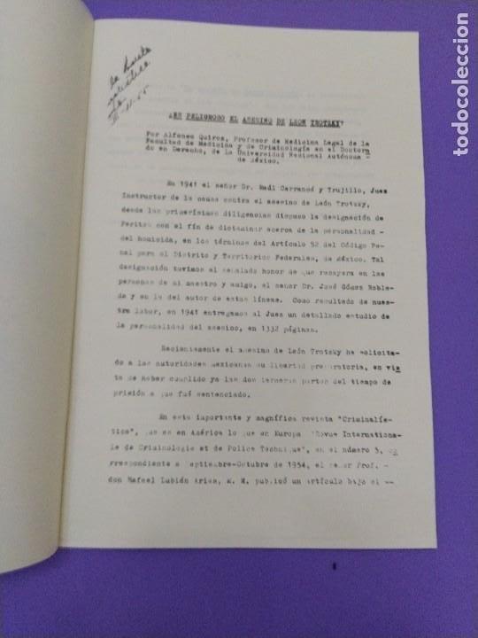 Libros de segunda mano: BOX 37cm.EL CASO TROTSKY.PRESENTACION DE UN PROCESO POR RAUL CARRANCA Y RIVAS.CONEPOD MEXICO D.F1994 - Foto 47 - 222396180
