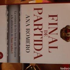 Libros de segunda mano: PARTIDA FINAL. Lote 222413201