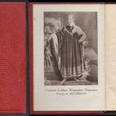 Libros de segunda mano: METTERNICH. COLECCION CRISOL Nº 9 - HERMAN, ARTHUR - A-CRISOL-1326. Lote 222601872