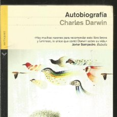 Libros de segunda mano: CHARLES DARWIN. AUTOBIOGRAFIA. VERTICALES. Lote 222610666