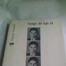 Libros de segunda mano: FRANZ KAFKA. R.M.ALBERES Y P. DE BOISDEFFRE. EDITORIAL FONTANELLA. 1964. Lote 222893810
