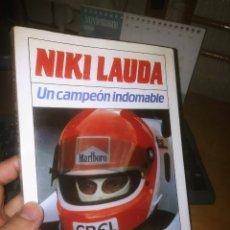 Libros de segunda mano: LIBRO: NIKI LAUDA. UN CAMPEÓN INDOMABLE DE PETER LANZ. Lote 223494718