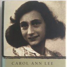 Libri di seconda mano: BIOGRAFIA DE ANA FRANK 1929-1945 / CAROL ANN LEE / PLAZA & JANÉS. Lote 224060363