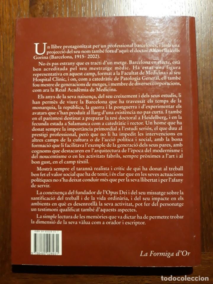 Libros de segunda mano: MEMÒRIA INGÈNUA - ALFONS BALCELLS. Català - Foto 2 - 224636970