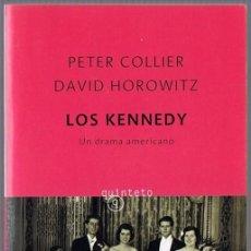 Libros de segunda mano: LOS KENNEDY UN DRAMA AMERICANO PETER COLLIER & DAVID HOROWITZ. Lote 224941186