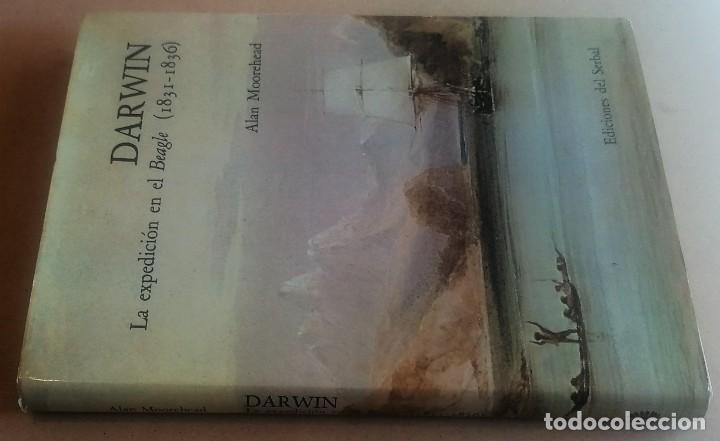 Libros de segunda mano: Alan Moorehead, Darwin. La expedición en el Beagle (1831-1836), Edicionesl del Serbal, 1982 - Foto 2 - 226121410