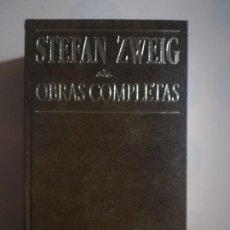 Libros de segunda mano: OBRAS COMPLETAS. BIOGRAFIAS. STEFAN ZWEIG. EDITORIAL JUVENTUD. 9ª ED. 1978.. Lote 226657880