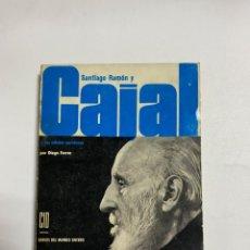 Libros de segunda mano: SANTIAGO RAMON Y CAJAL Y LAS CELULAS NERVIOSAS. DIEGO FERRER. EDICIONES CID. MADRID, 1965. PAGS:327. Lote 241311640
