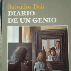 Libros de segunda mano: DIARIO DE UN GENIO. SALVADOR DALÍ. TUSQUETS. Lote 227622735