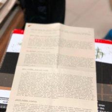 Libros de segunda mano: BIOGRAFIA DE LOS JUGADORES INGLESES QUE POSIBLEMENTE PUEDAN JUGAR EL CAMPEONATO.COPA DEL MUNDO. Lote 227771270