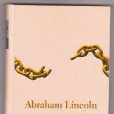 Libros de segunda mano: ABRAHAM LINCOLN, ISAAC MONTERO. Lote 228489342