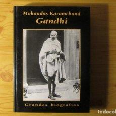 Libros de segunda mano: MOHANDAS KARAMCHAND GHANDI. Lote 229876960